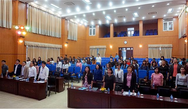 Khoa Kinh tế - Tài Chính tổ chức lễ sơ kết học kì I năm học 2017-2018